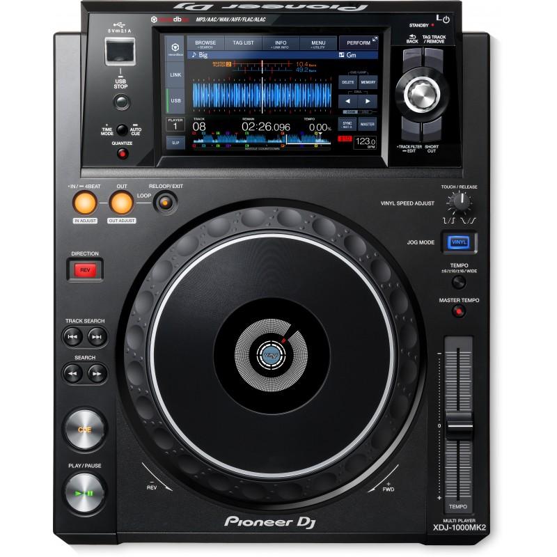 Аренда DJ-Проигрывателя PIONEER XDJ-1000MK2