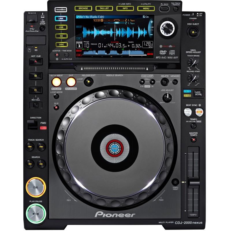 Аренда DJ-Проигрывателя PIONEER CDJ-2000NXS (NEXUS)