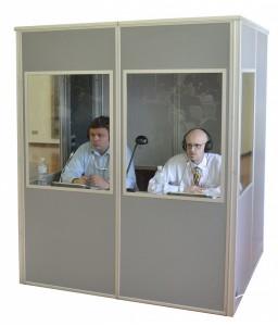 Кабина для переводчика (евростандарт)