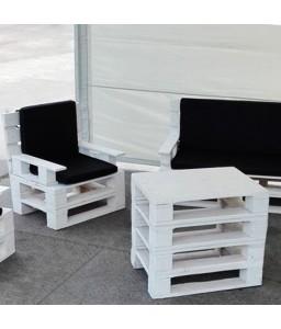Кресло из поддонов