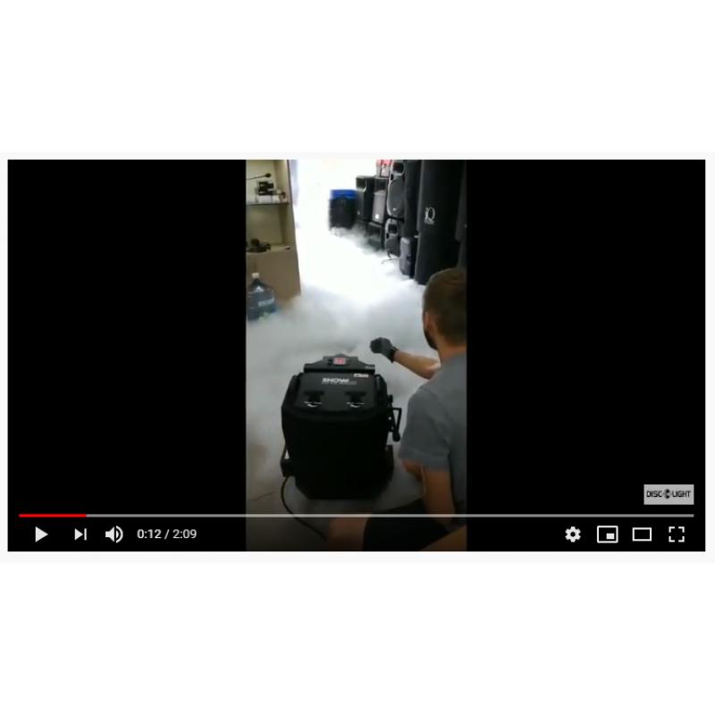 Аренда генератора тяжелого низкого дыма + расходники (5 кг сухого льда)
