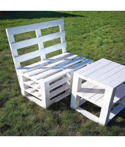 Белый Столик из поддонов