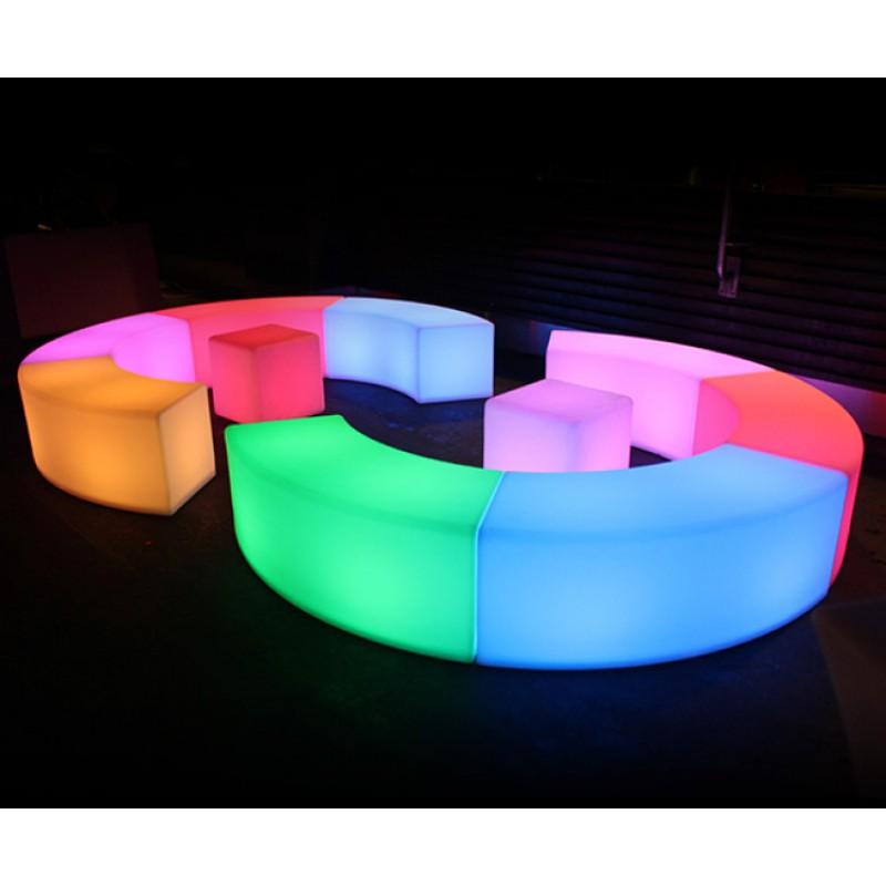 Светящиеся (LED) скамья