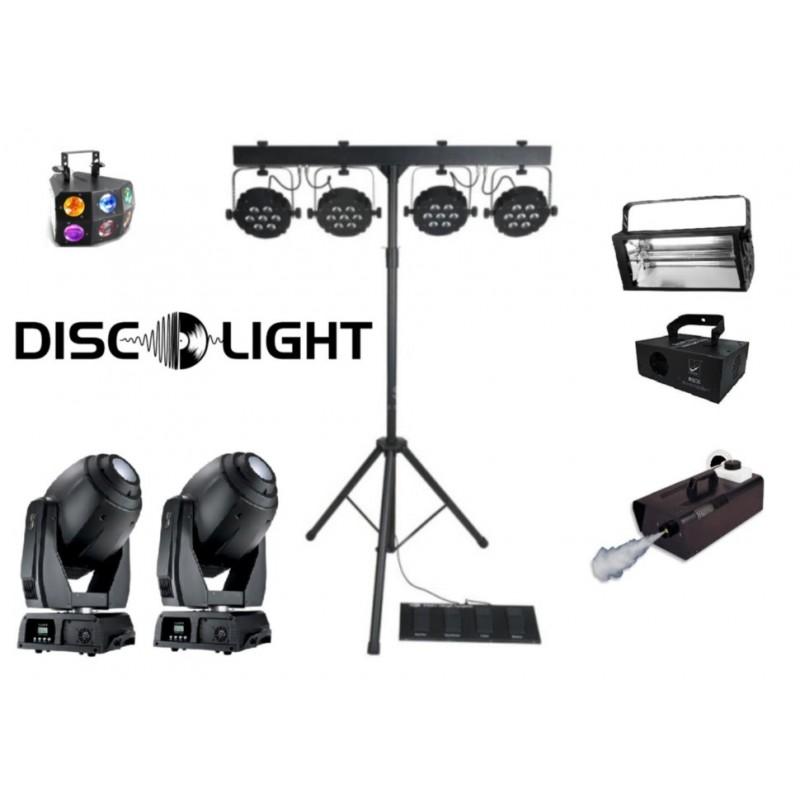Комплект светового оборудования со спецэффектами